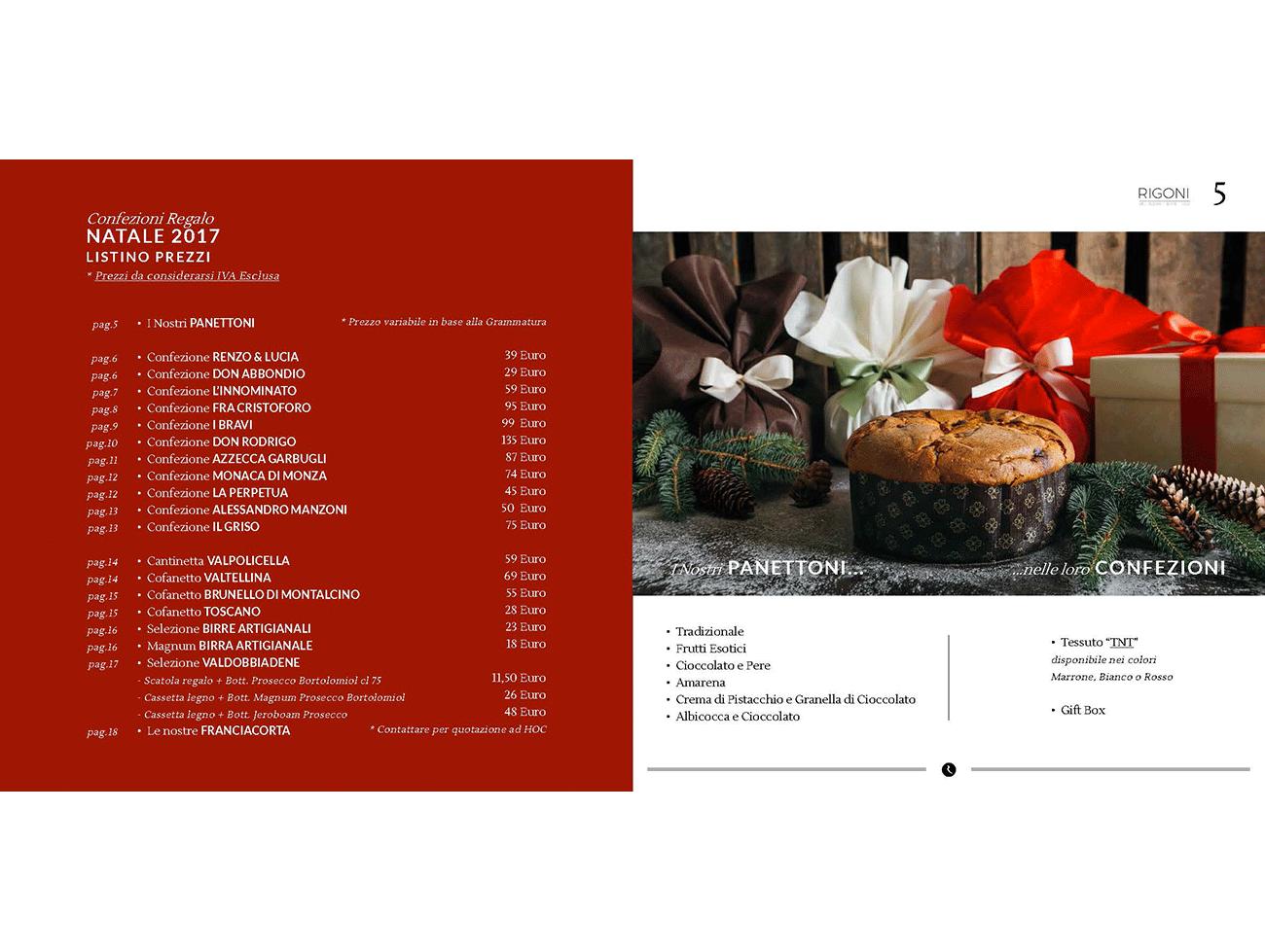 Rigoni, Natale, Regalo, Confezioni, Vendita