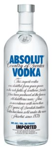 VODKA ABSOLUT RIGONI